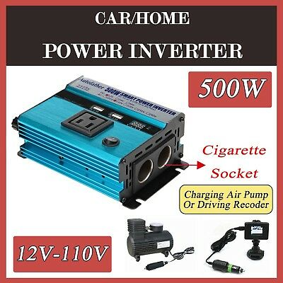 BESTEK 1000 Watt Car Power Inverter Dual AC Outlets 12V DC to 110V