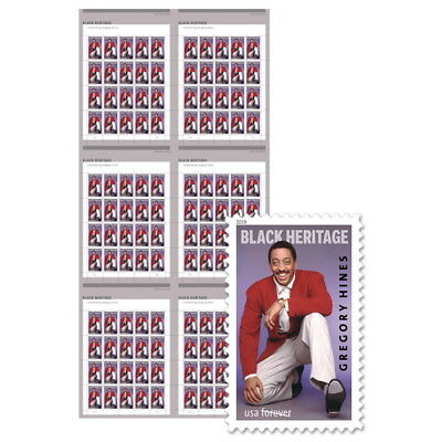 USPS New Gregory Hines Press Sheet