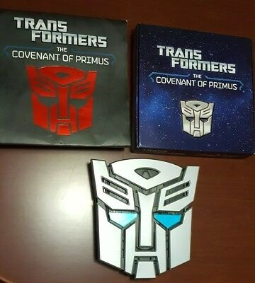 Transformers : The Covenant of Primus by Justina Robson 2013 - Includes sleeve