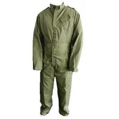 British Army Coveralls Mens Olive Green Boiler Suit Workwear Overalls