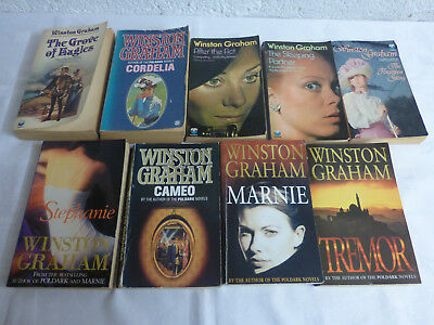 Winston Graham Mixed Editions Paperbacks x9 - Vintage & Modern