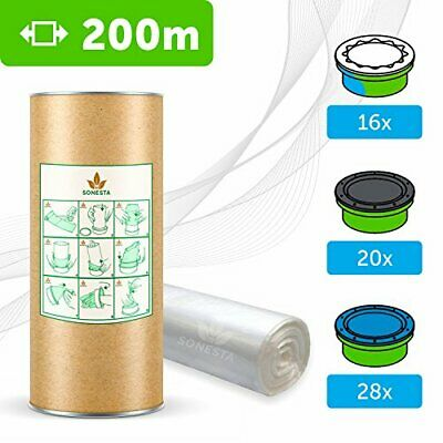 200 M - ECO Recarga compatible Sangenic Tommee Tippee | Angelcare para pañale...