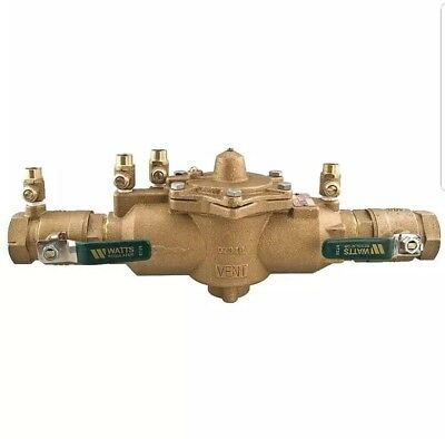 """Watts Water Technologies 1"""" 009M2-QT Reduced Pressure Zone Assembly"""