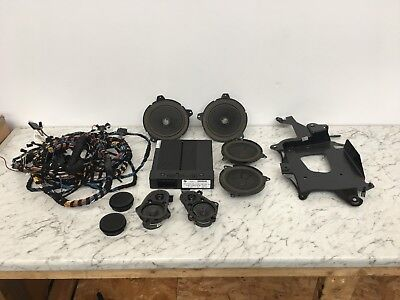 BMW E46 3 series Convertible HK Harmon Kardon Retrofit Sound System Kit &  Wiring