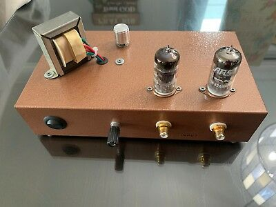 Stereo Phono Tube PreAmplifier 12AX7 - 100% hand built Stereo Tube Preamplifier