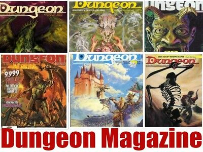 Dungeon Magazine 221 Issues + 2010 Annual PDF on DVD - Dungeons & Dragons SALE