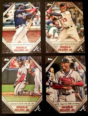2019 Topps Series 1 Ronald Acuna Jr. Star Player Highlights