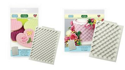 Katy Sue MINI CONTINUOUS QUILTING / CONTINUOUS Silicone Decorating Mould Art