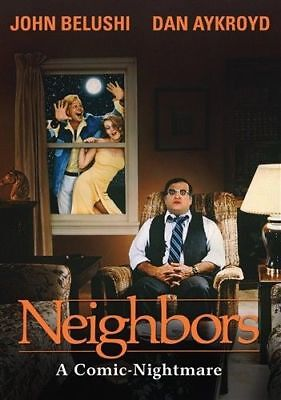 New! Neighbors on DVD - John Belushi Dan Aykroyd - Cult Dark Comedy 80s