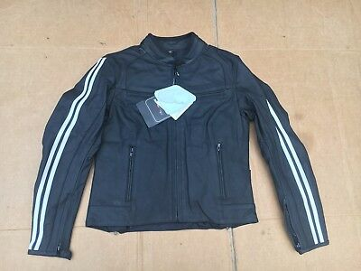 """RK SPORTS Ladies Leather Motorcycle Jacket UK 10 to 12    34"""" - 36"""" Chest   LBB"""