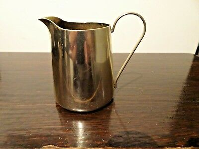 Antique EPNS Silver Plate Stylish Cream Jug BSC Barbour Silver Co America 1890's