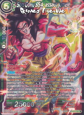 Dragon Ball Super Card Game ! Son Goku SS4, Assaut Jumelé BT5-055 SR/VF
