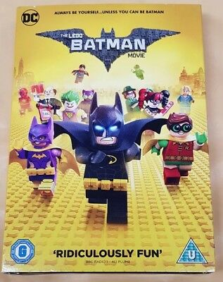 The LEGO Batman Movie - DVD + Digital Download - 2017 - New and Sealed