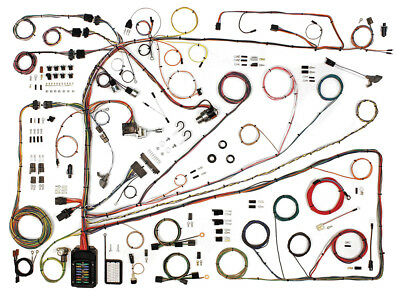 New 1962-65 Fairlane Wiring Harness Upgrade Kit Sedan Hardtop 500 Meteor Ford