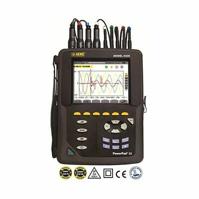 AEMC 8336 (2136.30) () PowerPad III Three-Phase Power Quality Analyzer