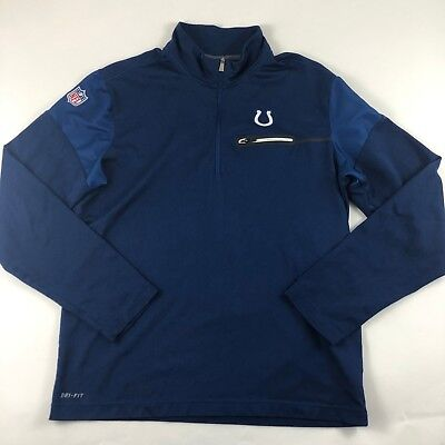 68fe0058 32) NIKE INDIANAPOLIS Colts nfl DRI-FIT Jersey Shirt Adult MENS ...