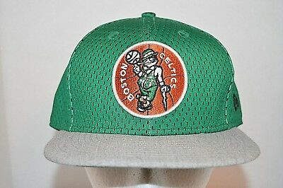 super popular c5ad1 63a56 ... shop boston celtics new era 9fifty nba hwc green gray mesh snapback hat  cap. c50fa