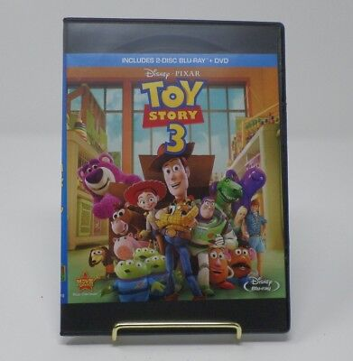 Pixars Toy Story 3 (Blu-ray/DVD Combo) [Upgraded to Slim DVD Case]