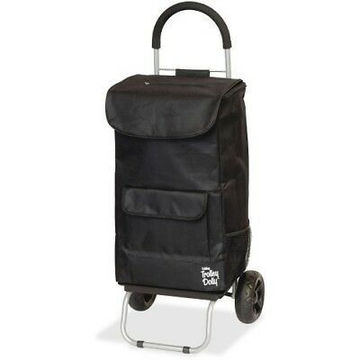 Trolley Dolly, Black Shopping Grocery Foldable Cart
