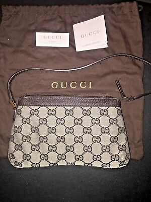 802e7cd906c Authentic New Never Worn Gucci Shoulder   Baguette   Hand Bag Purse With  Cover
