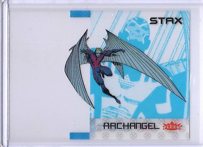 2018 Fleer Ultra X-Men STAX Acetate Insert 5A Top Layer Archangel Upper Deck SKC