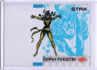2018 Fleer Ultra X-Men STAX Acetate Insert 3A Top Layer Dark Phoenix UD SKC