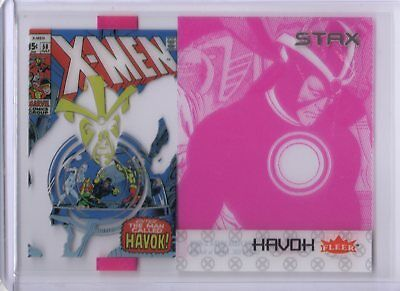 2018 Fleer Ultra X-Men STAX Acetate Insert 13B Middle Layer Havok Upper Deck SKC