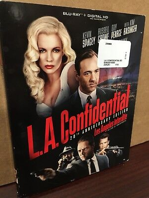 L.A. Confidential 20th Anniversary edition Blu-ray 2017 New Sealed Slipcover