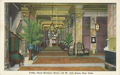 NEW YORK CITY – Great Northern Hotel Lobby (118 West 57th Street)