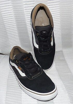 1dd61ab196 Mens Exc Vans Gilbert Crockett Pro Black  Rubber Vn-Ovnrbxh Shoes Size 7.5 M