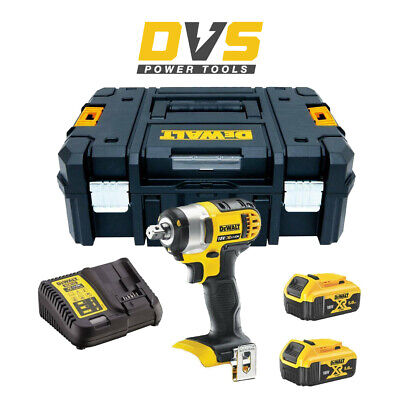 DeWalt DCF880P2 18v XR Compact Impact Wrench 2 x 5.0ah Li-Ion Charger and Case