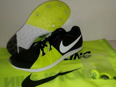 buy online 0c1b3 6a322 Nike Zoom Rival XC Track Spikes Shoes Mens size 11.5 904718-017 with  spikes