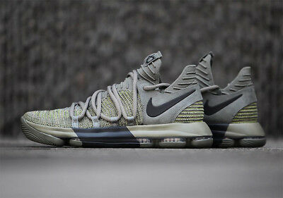 dbd6d97c178 NIKE ZOOM KD10 LMTD VETERANS DAY 10.5 Shoes STUCCO Olive GREEN BLACK 897817  002