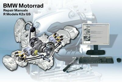 DVD MANUALE OFFICINA REPROM WORKSHOP BMW R1200GS - ADVENTURE - K25 3^ed.9/2008