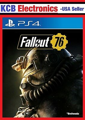 NEW - Fallout 76 - Playstation 4 PS4 Bethesda Video Game **SEALED**