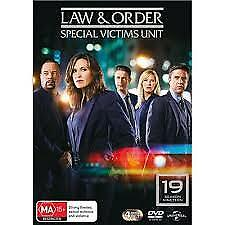 Law And Order - Special Victims Unit : Season 19 (DVD, 2018, 4-Disc Set)