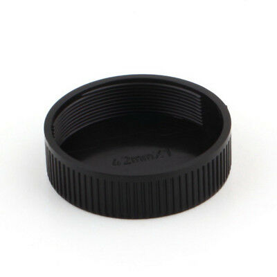 42mm Plastic Body & Rear Cap Cover For M42 Digital Camera Body And Lens Black