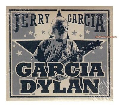 JERRY GARCIA Garcia Plays Dylan + Bonus disc NEW Grateful Dead 3 cd's bob dylan