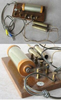 ANTIQUE FRENCH MEDICAL INSTRUMENT MAGNETOELECTRIC INDUCTOR / ca 1920s