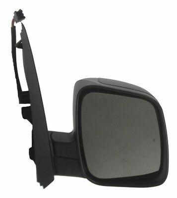 Fiat Qubo 2007-2018 left passenger side wide angle mirror glass 97LAS