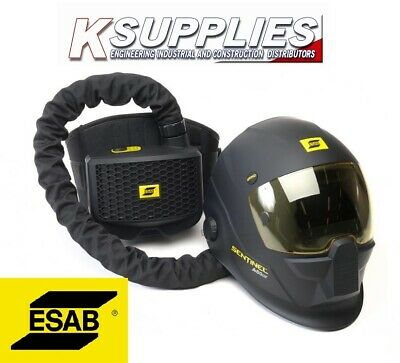 ESAB SENTINEL A50 WELDING HELMET MASK 5-13 AIR FED WITH  AIR PAPR *Free Next Day