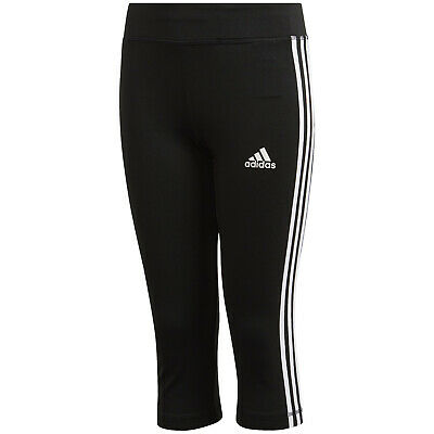 adidas Equipment 3/4 Tights Kinder Sport Trainingshose Fitness Hose Leggings