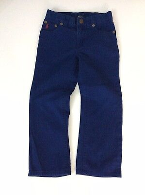 Polo Ralph Lauren Blue Chino Jeans Age 4 Years Boys Vgc
