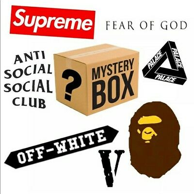 Mystery Box HypeBeast/Luxury (McQueen,Wang, Supreme The North Face) 100% LEGIT