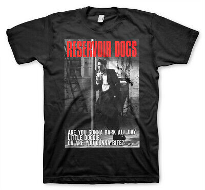 Reservoir Dogs Quentin Tarantino Michael Madsen Official Tee T-Shirt Mens Unisex