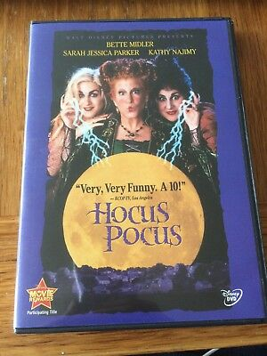 Hocus Pocus (DVD, 2002, Closed-Captioned) Disney Halloween