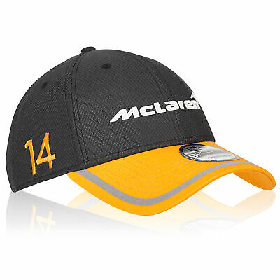 McLaren Official 2018 Fernando Alonso Cap Hat Headwear New Era 9FORTY Fanatics
