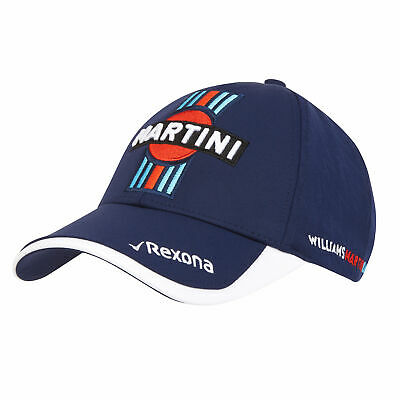 Williams Martini Racing 2018 Team Cap Hat Headwear Mens Fanatics
