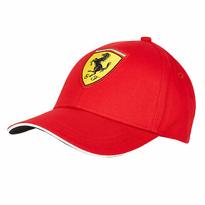 Scuderia Ferrari Classic Cap Hat Headwear Red Kids Fanatics