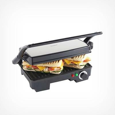 77d10abfe7c VONSHEF 2 SLICE Sandwich Press And Kitchen Open Flat Grill For Meat Fish  Veg - EUR 37